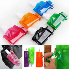 Water Plastic Outdoor Sport Folding Bag Bottle Collapsible Cups New Foldable