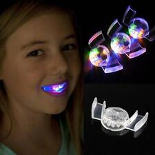 5pcs Led Flashing Mouth Lights Multi Bright Fun Colors ~Party Glow Blinking Toy~