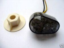 schwarze LED-Blinker/Verkleidungsblinker Yamaha YZF R3 RH07, smoked LED signals