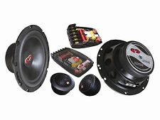 "CDT Audio CL 61BE.2 (2 Ohm version) 6.5"" 2-way BASS ENHANCED Component Speakers"