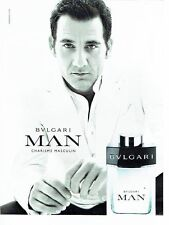 PUBLICITE ADVERTISING 027  2012   eau toilette homme                 Bulgari Man