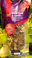 DRIED BLACK FUNGUS MUSHROOMS - Wood Ear - Thai Cuisine CHOLESTEROL HEART HEALTH