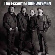 HIGHWAYMEN Essential 2CD NEW Johnny Cash Willie Nelson Kristofferson Jennings