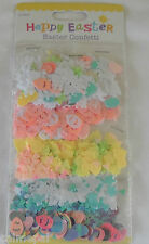 5  X Easter Confetti Table Decoration party Egg Hunt Rabbits Eggs Chicks