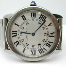 Cartier Ronde Solo Large 36mm Stainless Steel Watch