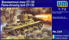 UMmt 1/72 219 WWII Soviet Red Army OT-130 Flame Thrower Tank