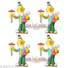 SESAME STREET Bert MAGNETS (4) ~ Birthday Party Supplies Favors Vintage Deco