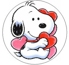 "~SNOOPY VALENTINES~  1"" Sticker / Seal Labels!"