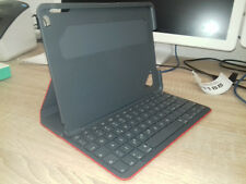 #LH188 Logitech Canvas Keyboard Case for iPad Air 2 - Red, Spanish