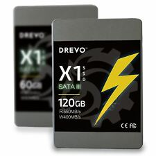 "SSD 120GB Drevo X1 2.5"" SATAIII  Internal PC Solid State Hard Drive 120GB"