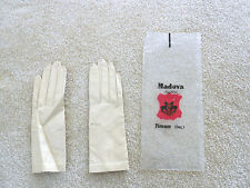 Beautiful Vintage  Madova  ( from Florence Italy) Kid Leather Gloves Size Small