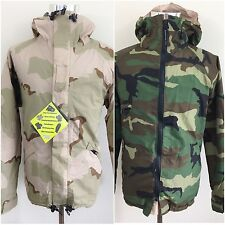 NWT Adventure Tech Reversible GORE-TEX Zip Woodland Desert Camo Jacket Large L