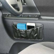 New Leather Storage Bag Mobile Phone Holder Pocket Car Accessories (M)