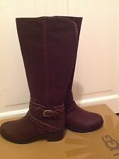 UGG Boots UK 4  Esplanade Tall Boots Chocolate BNIB