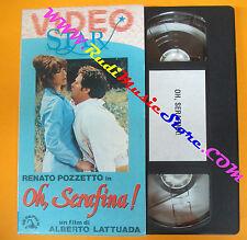 VHS film OH SERAFINA! Renato Pozzetto VIDEO STAR Lattuada SKORPION (F122) no dvd