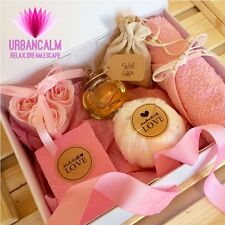 Bath Bomb Set Valentines Day Gift Pamper Natural Handmade Hamper Sets