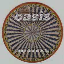 Oasis Stop The Clocks RARE promo sticker '06 (round)