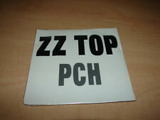 ZZ TOP - PCH !!!!!!!!!!!!!!!!!!!!!!!!!!!!RARE FRENCH CD