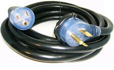25' 220 Volt 50 Amp Heavy Duty 8/3 Welder Extension Cord MIG TIG Plasma