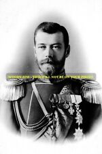 mm506 - Russia - Czar Nicholas II Romanov in uniform 1898 -  Royalty photo 6x4""