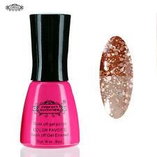 Perfect Summer UV Nail Gel Varnish Polish Glitter Color Temperature Change #115