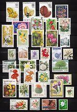 101368/ Blumen und Pflanzen - schönes Lot - o - nichts gerechnet - siehe scan