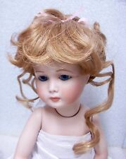 MONIQUE Doll Wig ~ LYDIA - 8-9 - LT STRAWBERRY BLONDE - Updo RIBBONS & TENDRILS
