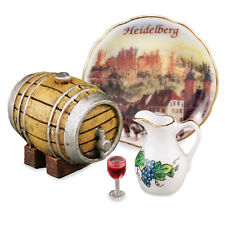 Reutter Porzellan Weinfaß-Set / Wine Barrel Set Puppenstube1:12 Artikel 50.184/0