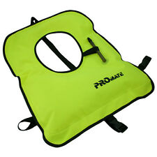 NEW Promate SNORKEL VEST Adult XL 240 - 320 lbs Neon Yellow Snorkeling Jacket