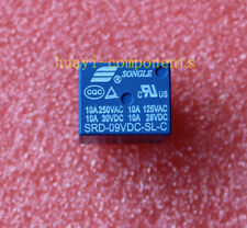 10pcs SRD-09VDC-SL-C 9V DC SONGLE Power Relay SRD-09VDC-SL-C PCB Type SPDT