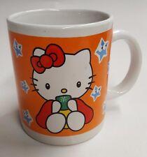 Hello Kitty Coffee/Tea Mug, orange and white, 2 sided