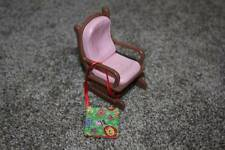 Fisher Price Loving Family Glider Story Book Nursery Rocking Chair Dollhouse Toy