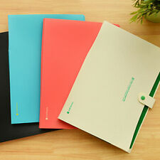8 Layers Pockets A4 Paper File Folder Holder For Document Office School Supplies