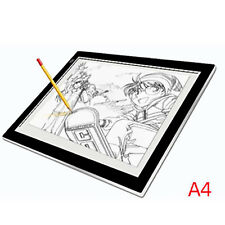 A4 LED Ultralight Art Craft Tattoo Stencil Touch Control Drawing Board Light Box