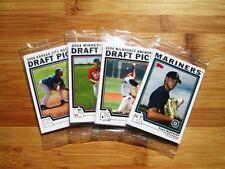 (4) Different 2004 Topps Baseball Factory Sealed Bonus Pack