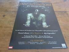 PARADISE LOST - Publicité de magazine / Advert IN REQUIEM !!!