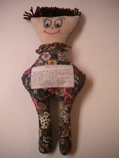 Cloth Dammit Doll / Stress Relief Doll, Great Gift or Personal Use