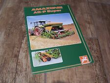 Catalogue  / Brochure AMAZONE AD-P Super 2005 //