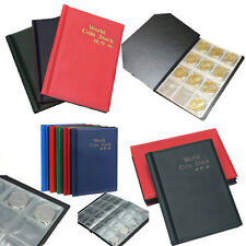 120 Holder Collection Storage Coin Album Book GOOD Collecting Money Penny Pocket