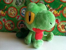 Pokemon Plush Treecko Banpresto 2005 Kawaii UFO Catcher stuffed doll figure