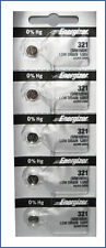 Energizer 321 (SR616SW) Silver Oxide Watch Batteries (1 pack of 5)