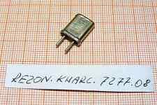 Quartz ( Crystal oscillator) 7277,08kHz ( 7,27708MHz ) [72]