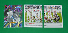 PANINI FOOTBALL FOOT 2007 AMIENS SC LICORNE COMPLET FRANCE 2006-2007