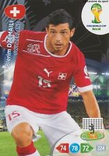 N°297 BLERIM DZEMAILI # SWITZERLAND PANINI CARD ADRENALYN WORLD CUP BRAZIL 2014