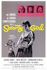 SORORITY GIRL Movie POSTER 27x40 Susan Cabot Dick Miller Barbara Crane June