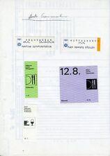 """Olympische Spiele 1972 München """"Muster Essenmarken"""" Otl Aicher"""