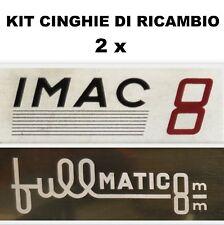 KIT CINGHIE DI RICAMBIO 2 x PROIETTORE IMAC FULLMATIC  8 mm ★
