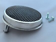 "Austin Healey Stainless Steel 1.1/2"" Rear Tri - Carb Air Filter."