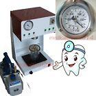 Dental Vacuum Mixer Dental Vacuum Mixing vibrating Machine Lab Equipment + PUMP