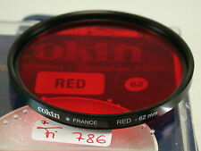Original Cokin Filter Foto Photo Lens Rot Red 62mm 62 E62 France (5)